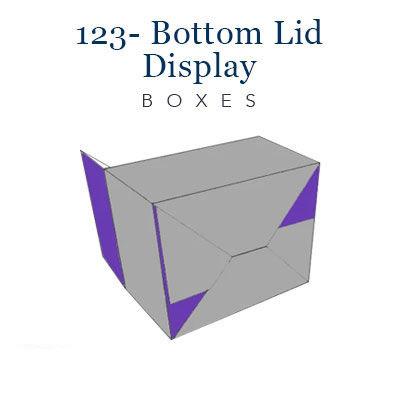 123- bottom lid display boxes (3)