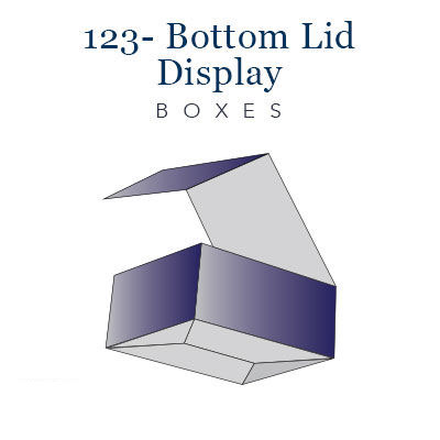 123- bottom lid display boxes (4)