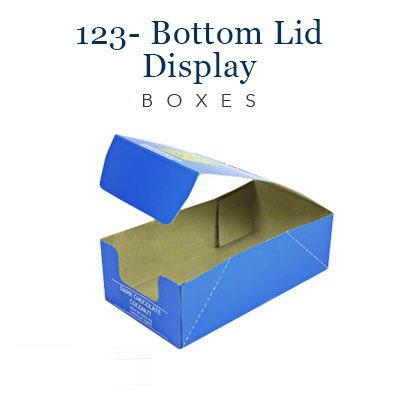 123- bottom lid display boxes (5)
