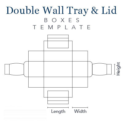 Double Wall Tray and Lid Boxes (7)