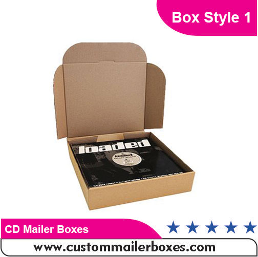 CD Mailer Boxes