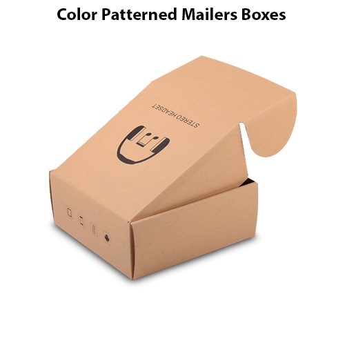 Color Patterned Mailers Boxes 3