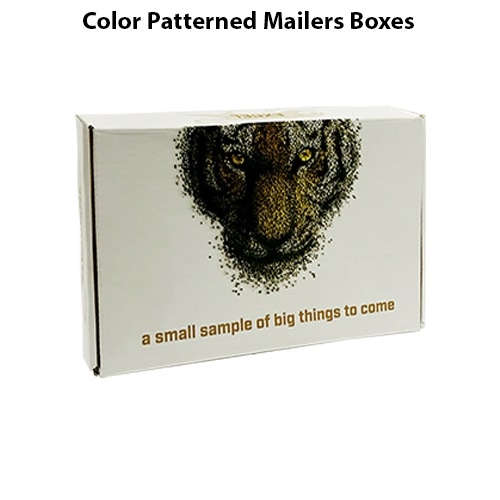 Color Patterned Mailers Boxes 4