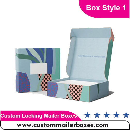 Custom Locking Mailer Boxes