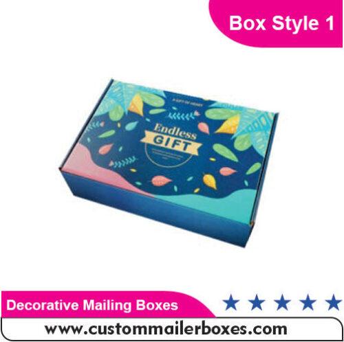 Decorative Mailing Boxes