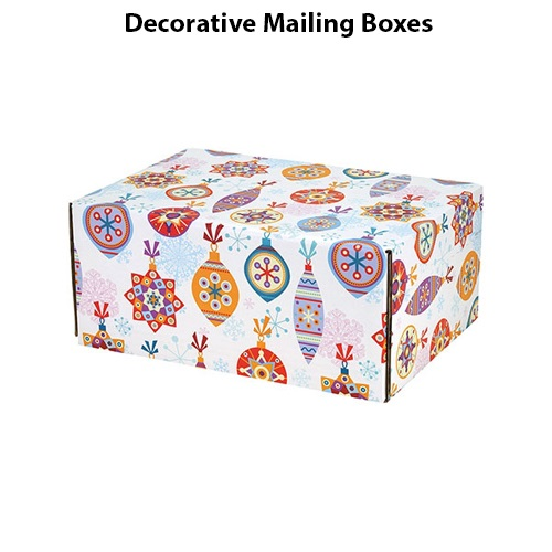 Decorative Mailing Packaging Boxes