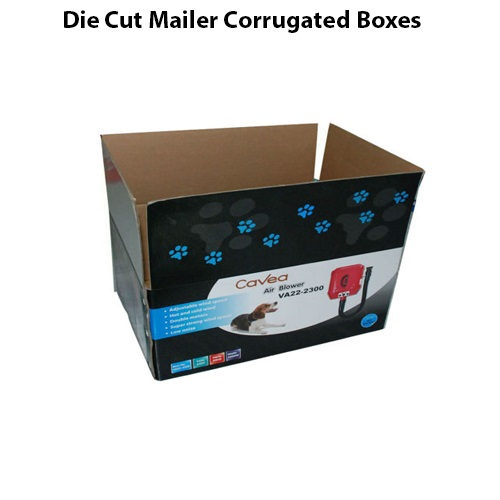 Die Cut Mailer Corrugated Boxes style 2