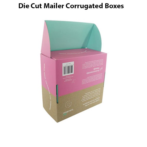 Die Cut Mailer Corrugated Boxes style 3
