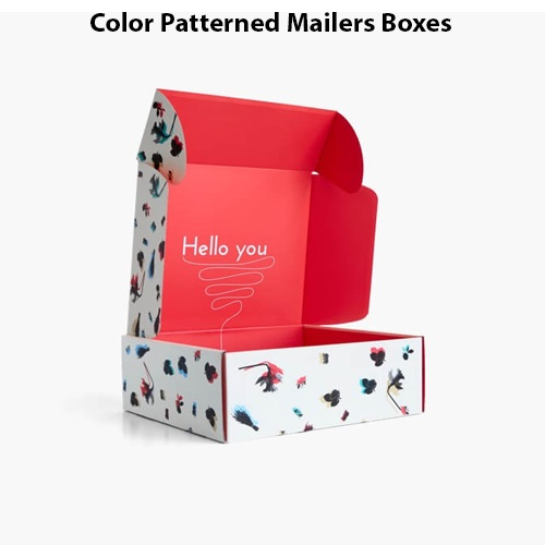 Patterned Mailers Boxes 2